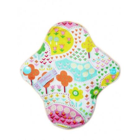 SPRING velvet washable panty liner (17 cm)