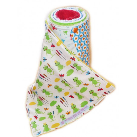 Washable paper towel FROGS