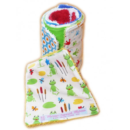 Washable toilet paper FROGS