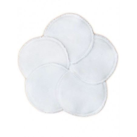 5 Disques démaquillants lavables bio HIPPIE
