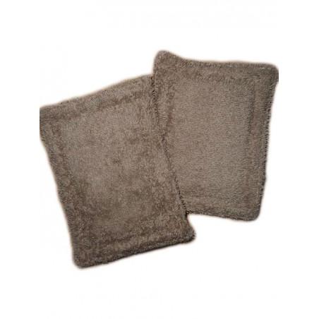 2 éponges lavables zéro déchet PAPILLONS