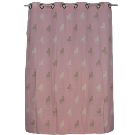 HORSES child curtain