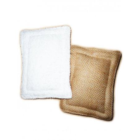 2 éponges lavables zéro déchet COEURS