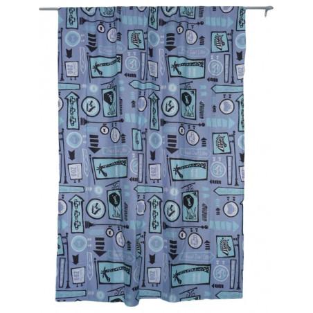Blue curtain MADAGASCAR