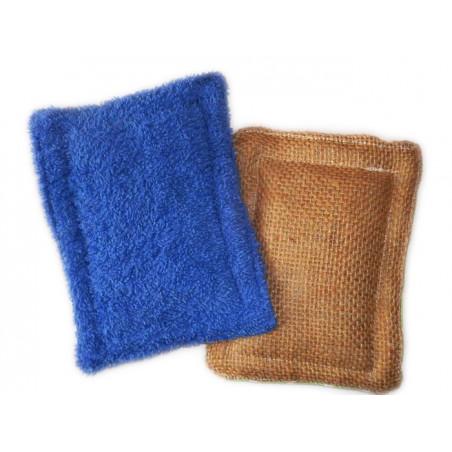 2 waschbare Schwämme ohne Abfall KÖNIGI