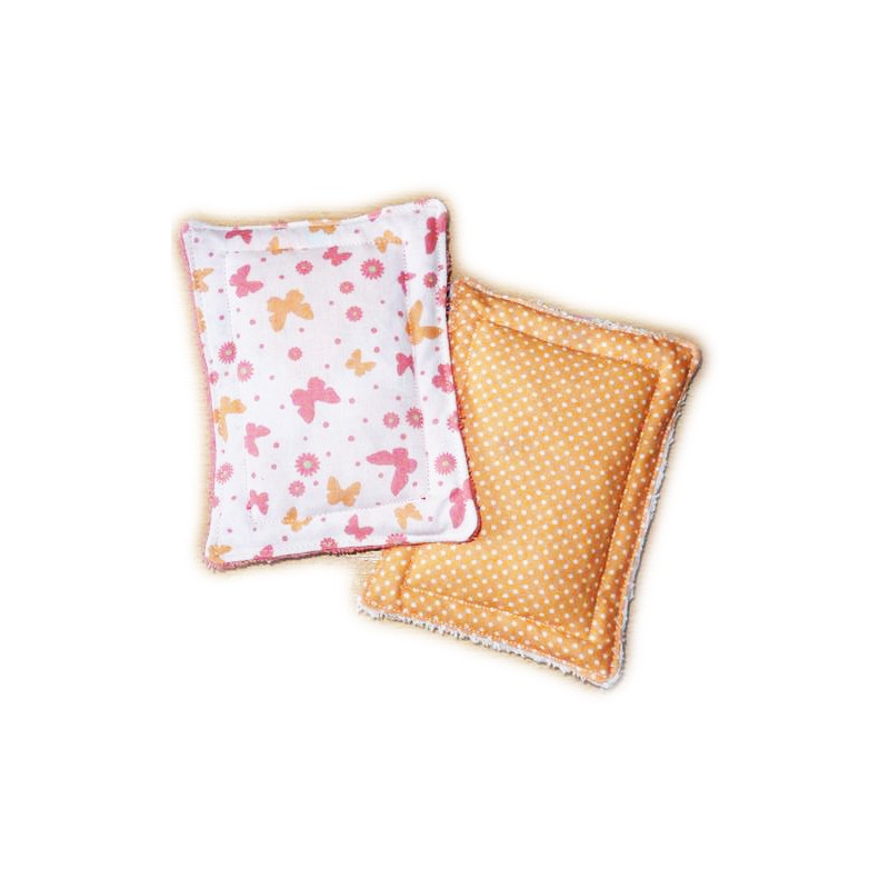 2 washable sponges zero waste MAY BUTTERFLIES