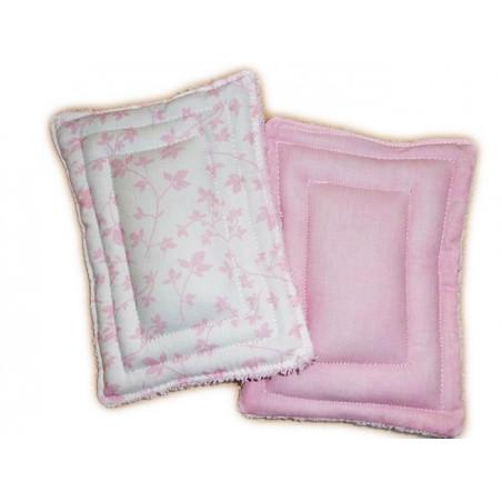 2 esponjas lavables cero residuos FOLLAJE ROSA