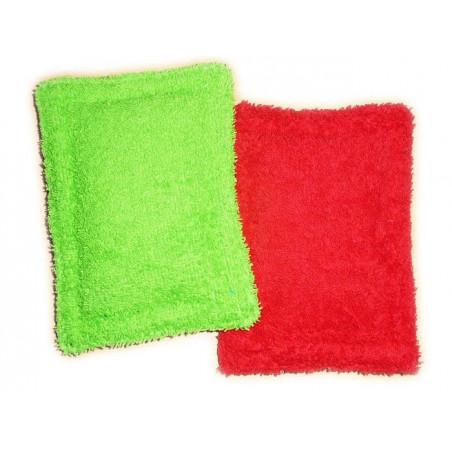 2 esponjas lavables cero residuos CORAZÓN