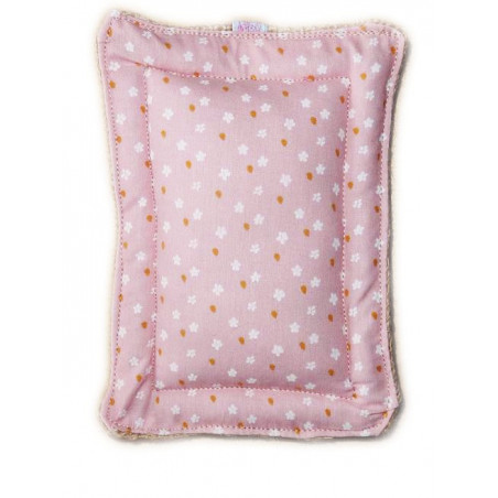 Washable scouring pad zero waste SMALL FLOWERS
