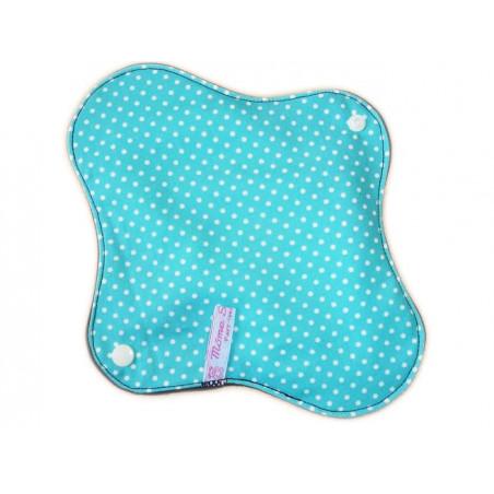 Serviette hygiénique lavable PETITS POIS (M)