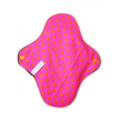 KLEINE PUNKTE waschbare Damenbinde (M)