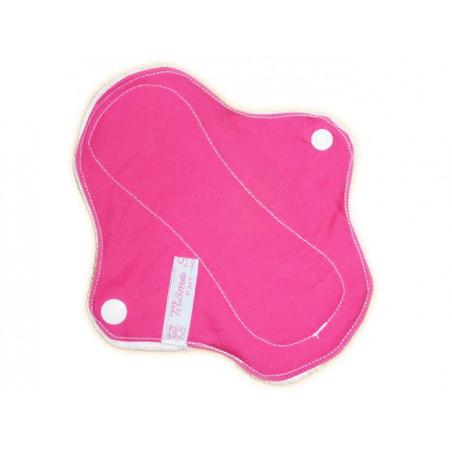 PINK velvet washable panty liner (17 cm)