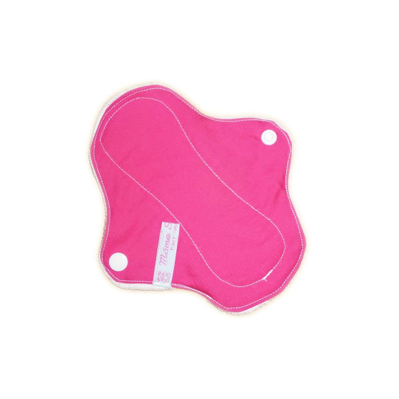 Protège-slip lavable en velours PINK (17 cm)