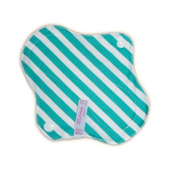 Protège-slip lavable en velours STRIPED (17 cm)