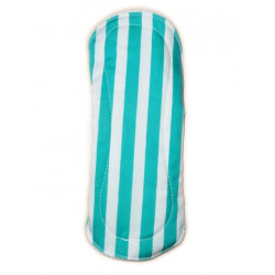 STRIPED velvet washable panty liner (17 cm)
