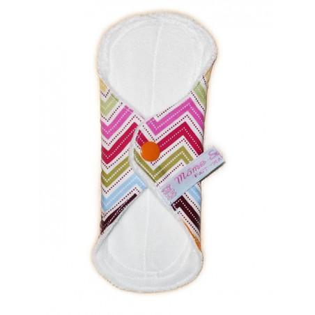 ZIG ZAG velvet washable panty liner (17 cm)