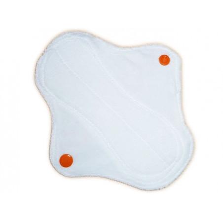 Protège-slip lavable en velours ZIG ZAG (17 cm)