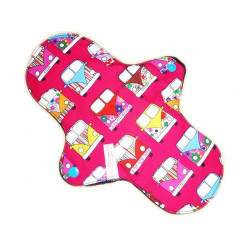 Washable sanitary napkin HIPPY (L)