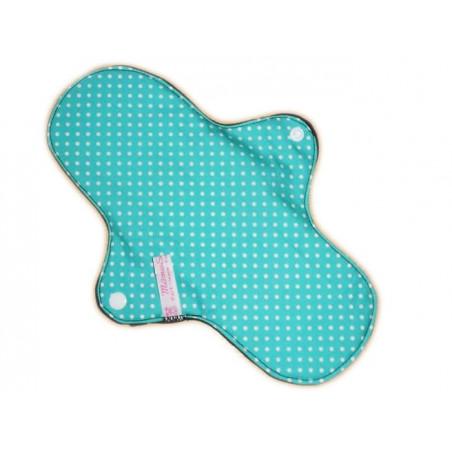 Serviette hygiénique lavable PETITS POIS (L)