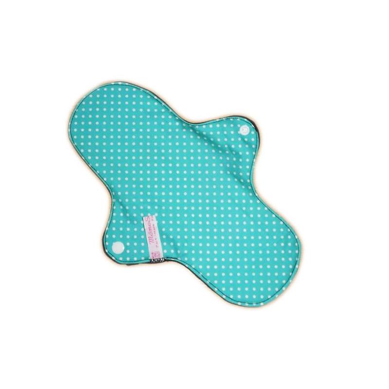 KLEINE PUNKTE Waschbare Damenbinde (L)