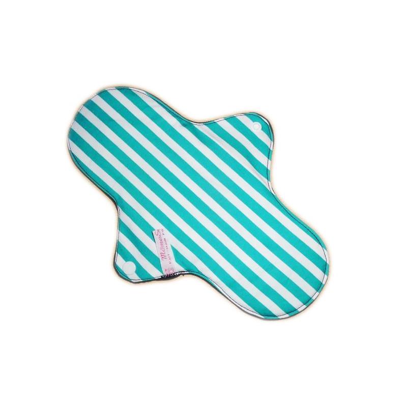 STRIPED Waschbare Damenbinde (L)