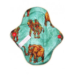 AFRICAN ELEPHANT washable panty liner (17 cm)