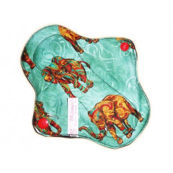 AFRICAN ELEPHANT forro panty lavable (17 cm)