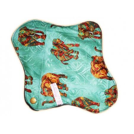 Serviette hygiénique lavable AFRICAN ELEPHANT (M)
