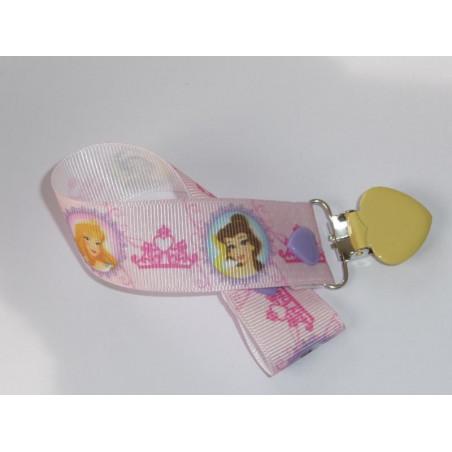 Pacifier clip PRINCESSES