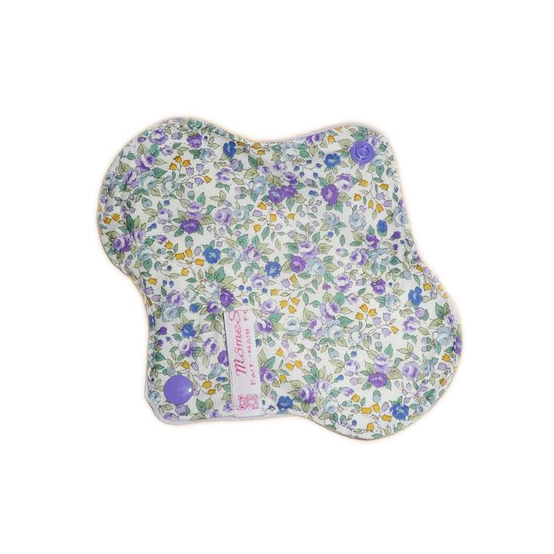 Protège-slip lavable LIBERTY VIOLETTES (17 cm)