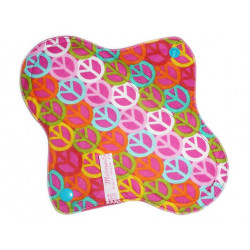 PEACE AND LOVE washable panty liner (22 cm)
