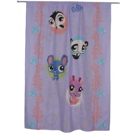 Purple curtain LITTLEST PET SHOP