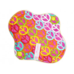 PEACE AND LOVE forro panty lavable (17 cm)