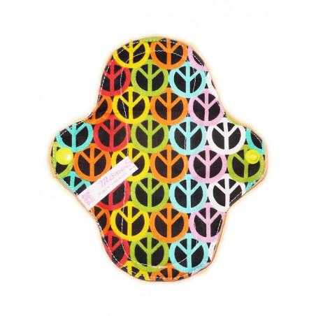 PEACE AND LOVE waschbare Slipeinlage (17 cm)