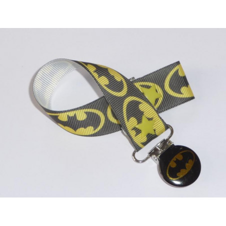BATMAN Pacifier Clip