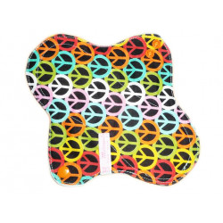 PEACE AND LOVE forro panty lavable (22 cm)