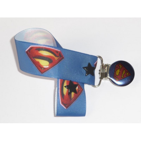 Attache-tétine SUPERMAN