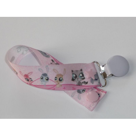 Pacifier clip LITTLEST PET SHOP