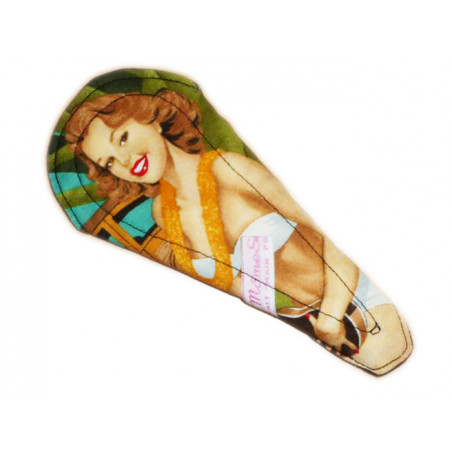 Protège-string lavable PIN-UP HAWAIENNE (16 cm)