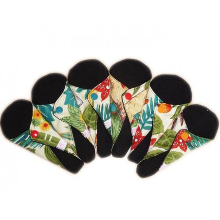 6 Protège-strings lavables FRIDA KHALO (16 cm)