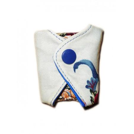 Protège-string lavable FLORAL (16 cm)