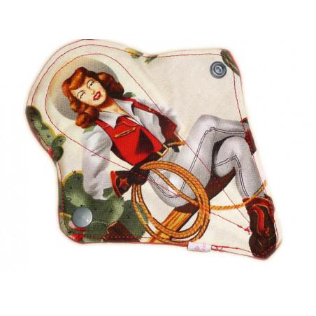 Protège-string lavable COW-GIRL (16 cm)