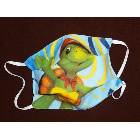 FRANKLIN reversible waschbare Stoffmaske für Kinder