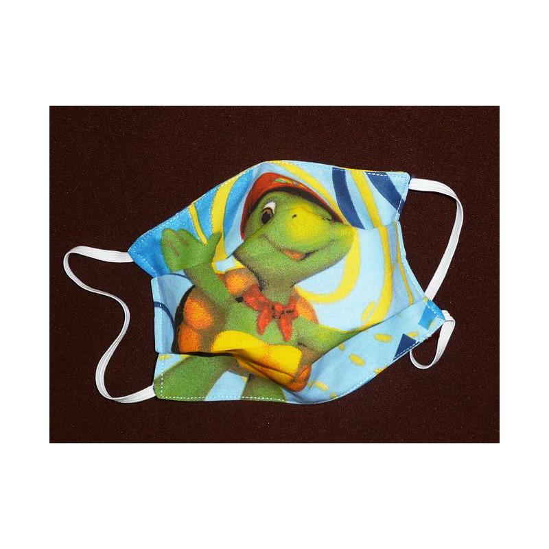 Masque en tissu lavable réversible enfant FRANKLIN