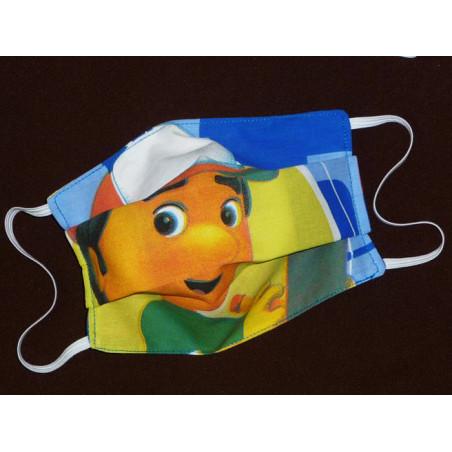 HANDY MANNY reversible waschbare Stoffmaske für Kinder