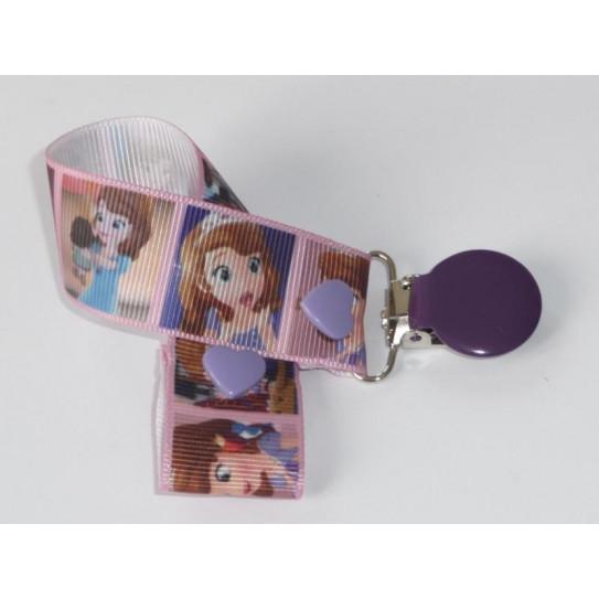 Pacifier clip PRINCESSE SOFIA