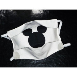 MICKEY MOUSE children's reversible washable fabric mask