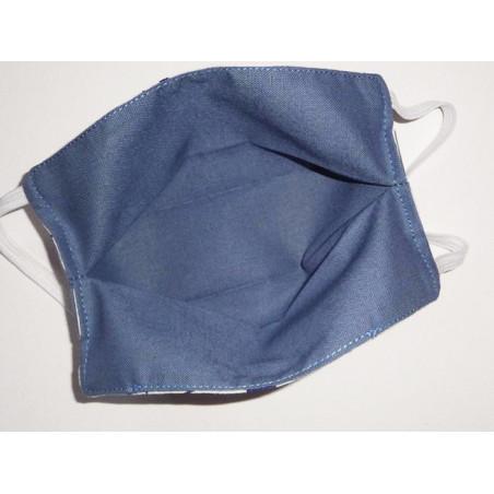 Masque en tissu lavable réversible enfant PIKACHU (POKEMON)