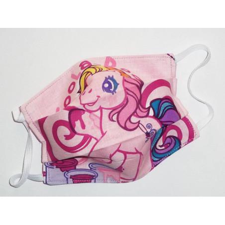 MEIN KLEINES PONY reversible waschbare Stoffmaske für Kinder