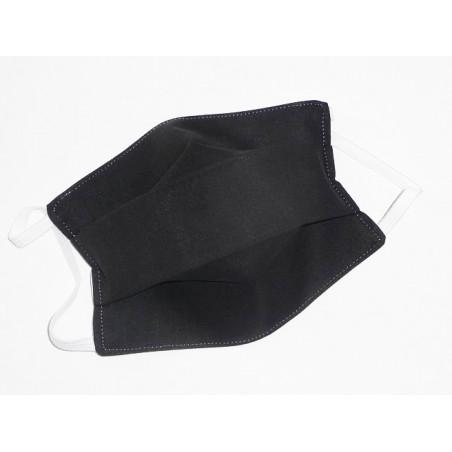 Masque en tissu lavable réversible enfant BLACK AND WHITE